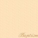 Reminisce - 12 x 12 Paper - Baptism