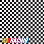Reminisce - 12 x 12 Paper - Racing