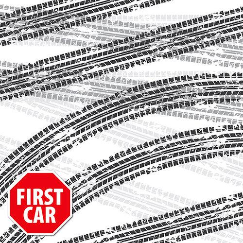 Reminisce - 12 x 12 Paper - First Car