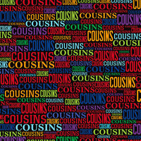Reminisce - 12 x 12 Paper - Cousins Word 2
