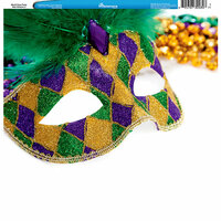 Reminisce - Customs Collection - 12 x 12 Single Sided Paper - Mardi Gras Party - New Orleans 2