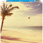 Reminisce - Customs Collection - 12 x 12 Single Sided Paper - Cancun Beach