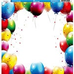 Reminisce - Birthday Party Collection - 12 x 12 Double Sided Paper - Birthday Party 2