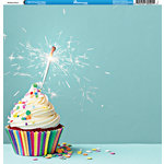 Reminisce - Birthday Party Collection - 12 x 12 Double Sided Paper - Birthday Party 3