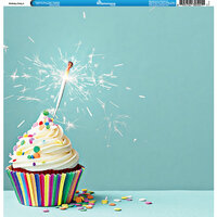 Reminisce - Birthday Party Collection - 12 x 12 Single Sided Paper - Birthday Party 3