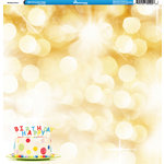Reminisce - Birthday Party Collection - 12 x 12 Double Sided Paper - Birthday Party 4