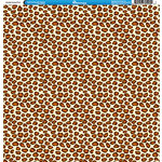 Reminisce - Animal Prints Collection - 12 x 12 Single Sided Paper - Cheetah