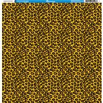 Reminisce - Animal Prints Collection - 12 x 12 Single Sided Paper - Leopard