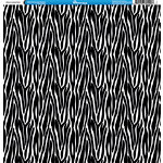 Reminisce - Animal Prints Collection - 12 x 12 Single Sided Paper - Zebra 2