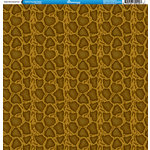 Reminisce - Animal Prints Collection - 12 x 12 Single Sided Paper - Snake Skin