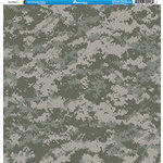 Reminisce - Camo Prints Collection - 12 x 12 Single Sided Paper - Camouflage 2