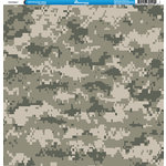 Reminisce - Camo Prints Collection - 12 x 12 Single Sided Paper - Camouflage 6