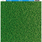 Reminisce - Golf Collection - 12 x 12 Single Sided Paper - Green Grass
