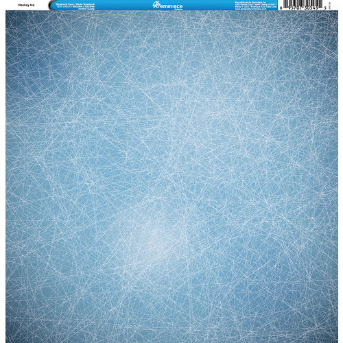 Reminisce - Hockey Collection - 12 x 12 Single Sided Paper - Hockey Ice