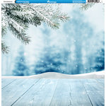 Reminisce - Winter Collection - 12 x 12 Double Sided Paper - Winter Background