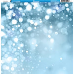Reminisce - Winter Collection - 12 x 12 Double Sided Paper - Bokeh