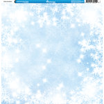 Reminisce - Winter Collection - 12 x 12 Single Sided Paper - Snowflakes