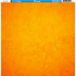 Reminisce - Orange Collection - 12 x 12 Double Sided Paper - Plaster