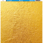 Reminisce - Foil Images Collection - 12 x 12 Double Sided Paper - Gold