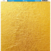 Reminisce - Foil Images Collection - 12 x 12 Single Sided Paper - Gold