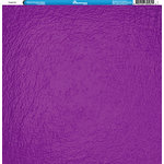 Reminisce - Foil Images Collection - 12 x 12 Single Sided Paper - Purple
