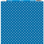 Reminisce - 4th of July Collection - 12 x 12 Double Sided Paper - Stars on Blue