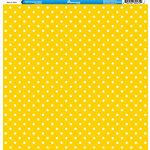 Reminisce - 4th of July Collection - 12 x 12 Double Sided Paper - Stars on Yellow