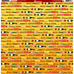 Reminisce - BBQ Collection - 12 x 12 Double Sided Paper - Picnic Parade