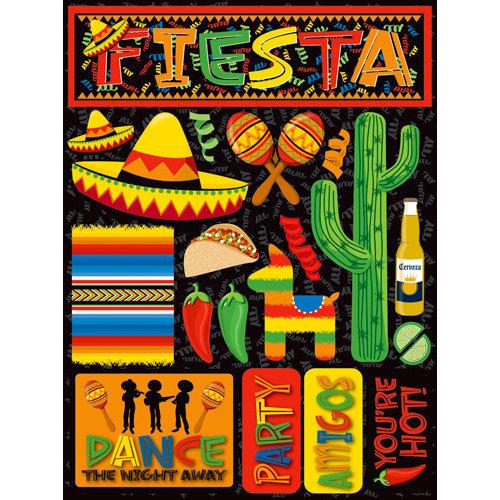 Reminisce - Fiesta Collection - 3 Dimensional Die Cut Stickers - Fiesta 1