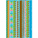 Reminisce - Luau Collection - Die Cut Cardstock Stickers - Border Strip