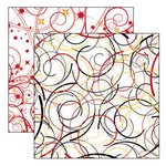Reminisce - Real Magic Collection - 12 x 12 Double Sided Paper - Magic Swirls