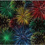 Reminisce - Real Magic Collection - Disney - 12 x 12 Metallic Paper - Firework Spectacular