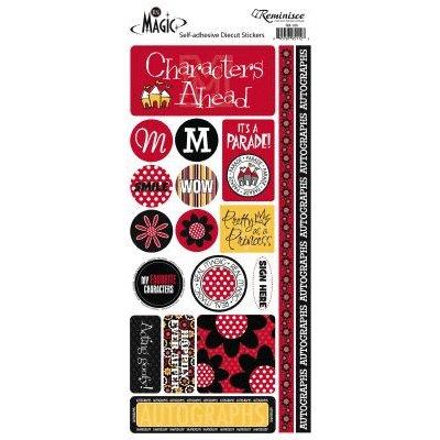 Reminisce - Real Magic - Disney - Cardstock Stickers - Phrase