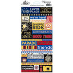 Reminisce - Real Magic Collection - Glitter Stickers - Quotes
