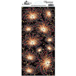 Reminisce - Real Magic Collection - Glitter Stickers - Fireworks