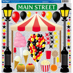 Reminisce - Real Magic Collection - Disney - 12 x 12 Cardstock Stickers - Main Street Icon