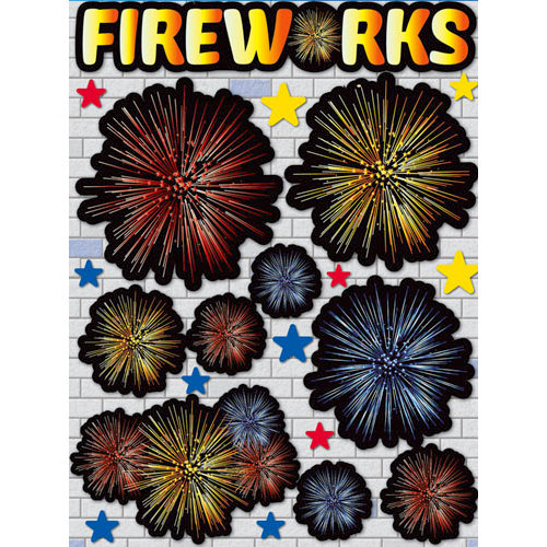 Reminisce Real Magic Collection Disney 3 Dimensional Die Cut Stickers Fireworks
