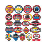 Reminisce - Real Magic Collection - 12 x 12 Cardstock Stickers - Label