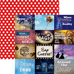 Reminisce - Real Magic Collection - 12 x 12 Double Sided Paper - Real Magic