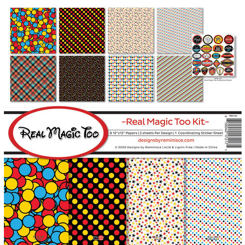 Reminisce - Real Magic Too Collection - 12 x 12 Collection Kit