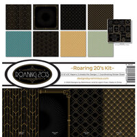 Reminisce - Roaring 20's Collection - 12 x 12 Collection Kit