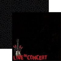 Reminisce - Rockstar Collection - 12 x 12 Double Sided Paper - Live in Concert