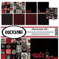 Reminisce - Rockstar Collection - 12 x 12 Collection Kit
