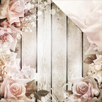 Reminisce - Romantique Collection - 12 x 12 Double Sided Paper - Romance