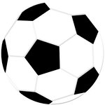 Reminisce - Real Sports Collection - 12 x 12 Textured Die Cut Paper - Soccer Ball