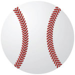 Reminisce - Real Sports Collection - 12 x 12 Textured Die Cut Paper - Baseball