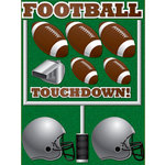 Reminisce - Real Sports Collection - 3 Dimensional Stickers - Football