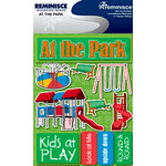 Reminisce - Signature Series Collection - 3 Dimensional Die Cut Stickers - At The Park
