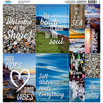 Reminisce - Rocky Shores Collection - 12 x 12 Cardstock Stickers - Poster