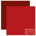 Reminisce - Signature Series Collection - 12 x 12 Double Sided Paper - Adopted With Love